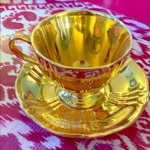 Other - Gold cup & saucer